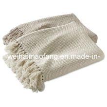 Factory of 100% Cotton Throw