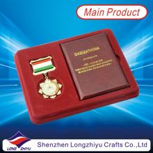 Custom Military Star Medaillen mit Broschüre und Geschenk-Box (lzy001623)
