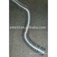 Tuyau flexible de feuille d'aluminium