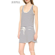 China Factory Casual Stripe Cotton Dress