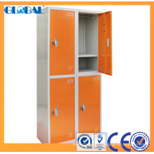 Multi-tier Steel locker for school with different colors