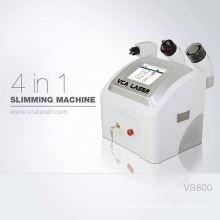 máquina bipolar multipolar tripolar do rf da cavitação da tabela mini para o uso home
