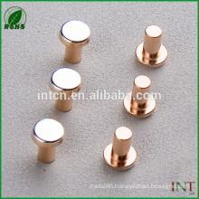 flat head solid T2 copper rivets