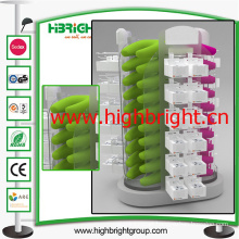 Supermarket Acrylic Rotating Display Stand for Inflatable Pillow
