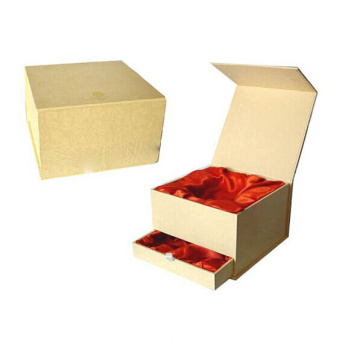 Drawer Two Layers Box Dengan Silk Inlay