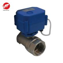 Água de esfera motorizada CWX-15q com válvula de controle direcional do temporizador