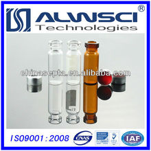 2ml Crimpkappe Glas chemische Reagenzflasche 11mm Autosampler Fläschchen Anzug für Agilent