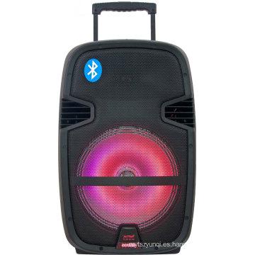 Karaoke innovador innovador altavoces de la etapa grande con la luz LED F23
