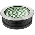 Schwarze runde Form 36W LED Inground Light