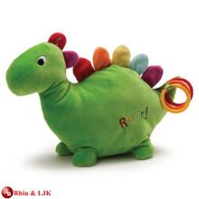 EN71&ASTM standard , toys plush dinosaur