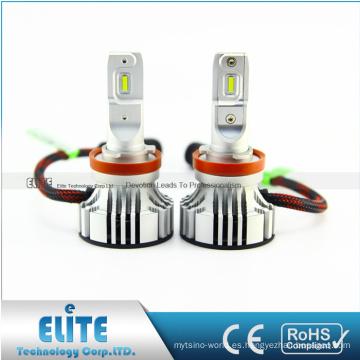 Piezas de automóvil blancas del haz de la linterna H10 6000LM 9V 32V 6500K del coche de F2 LED con el CE ROHS