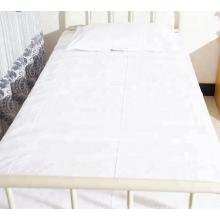 100% coton housse de drap de lit en coton médical des hôpitaux
