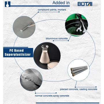 concrete admixture Polycarboxylate superplasticizer