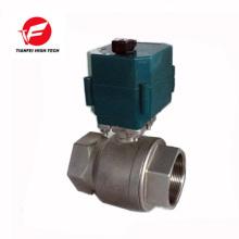 dn20 dn32 dn50 ss304 CTF-001 10nm 12v válvula de agua eléctrica