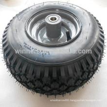 Beach cart wheel tubeless tire 4.10-6 golf cart wheel