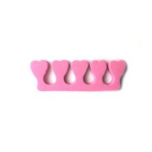 Las herramientas suaves de la belleza del clavo de la pedicura separan los dedos del pie de la espuma de EVA con 5 dedos del pie para el esmalte de uñas
