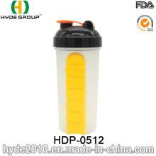 600ml Recém Frasco De Shaker De Proteína De Plástico (HDP-0512)