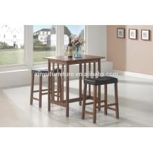Modern restaurant high feet chair and table set XY0800