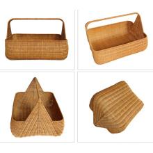 (BC-R1001) Pure Manual Craft Rattan Basket