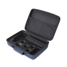 High End Custom Portable Storage Box Hard Shell EVA Carrying Case For Massage Gun