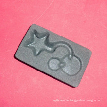 Flocking PS Thermo Form Blister Tray for Cosmetic Packaging