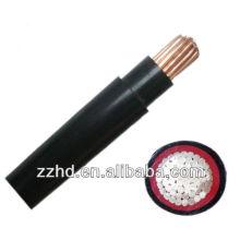 Cable de cu de baja tensión blindado pvc / cable no blindado cable cu 50mm2 120mm2