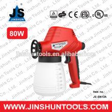 Pistola de pulverización de motor de transformador eléctrico profesional JS