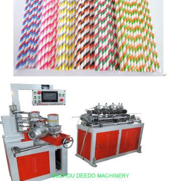 Pailles de papier biodégradables faisant la machine