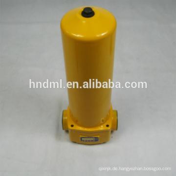 Bevorzugter Filterhersteller, Ersatz für LEEMIN-Hochdruckfiltergehäuse ZUI-E25X10DLP, HOCHDRUCKFILTER ZUI-E25