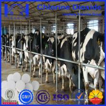 Comprimés à base de dioxyde de chlore 10% pour le désinfectant pour volailles et bétail