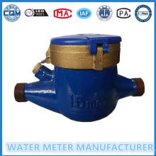 Medidor de água multi mecânico ISO4064 do seletor seco Medidor de água fria