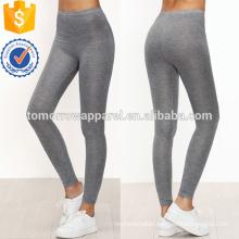 Grey Skinny Casual Leggings OEM/ODM Manufacture Wholesale Fashion Women Apparel (TA7030L)