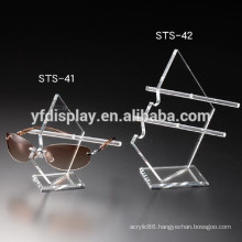 Clear Acrylic Eyeglasses Display Rod Stand for Glasses
