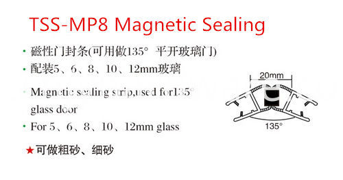 Pvc Magnitic Seal Strip