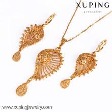 61177-Wholesale Imitation Xuping bijoux en or ensemble de bijoux