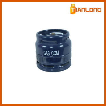 6kg empty compressed LPG cylinder