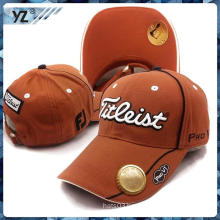 Multifunctional 100%cotton high quality gold beer bottle openner cap Professional hat custom