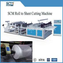 Máquina de corte desbobinadora hidráulica