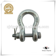 US Type galvanized high strength Bow/Omega Shackle G209 G2130
