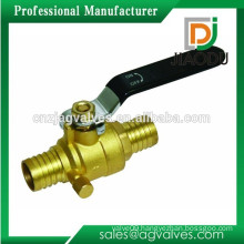 Brass Full Port Pex Ball Valve 1/2 Inch With Drain-Lead Free