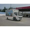 Dongfeng LED Mobile Advertising Trucks Dijual
