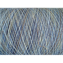 Acrylic Tencel Blenched Section Dyed Yarn