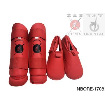karate shin and instep guard