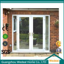 High Quality Wooden Patio Sliding Door Clap-Wood Solid Wooden Door