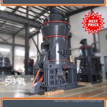Meuleuse de cendres de mastic de haute capacité pour le Ghana