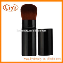 OEM Gratisprobe versenkbare Make-up Kosmetik Pinsel in Farbe schwarz