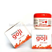 Suprimentos de fábrica Cuidados com a pele profissional Goji Berry Cream OEM