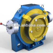 900KG, 0.63m / s ímã permanente motor síncrono do elevador Gearless