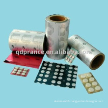 PTP Aluminium foil for pharmaceutical