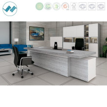Contract Bench Office Manager Executive Furniture Desk with Steel Leg (clever-MD22)